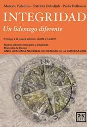 Libro Integridad , Un Liderazgo Diferente