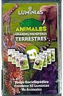 Papel ANIMALES GRANDES MAMIFEROS TERRESTRES JUEGO ENCICLOPEDICO (CONTIENE 32 LUMINIAS DE GRANDES