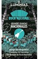 Papel ROCK NACIONAL GRANDES BANDAS NACIONALES JUEGO ENCICLOPE  DICO (CONTIENE 32 LUMINIAS DE BANDA