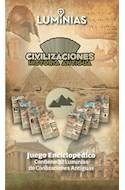 Papel CIVILIZACIONES HISTORIA ANTIGUA JUEGO ENCICLOPEDICO (CO  NTIENE 32 LUMINIAS DE CIVILIZACIONE