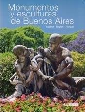 Papel MONUMENTOS Y ESCULTURAS DE BUENOS AIRES ESPAÑOL-ENGLISH-FRAN