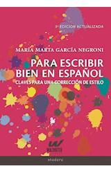 Papel Para escribir bien en español