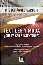 Libro Textiles Y Moda.