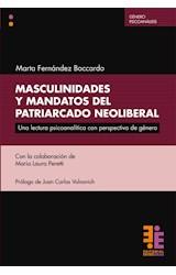 Papel MASCULINIDADES Y MANDATOS DEL PATRIARCADO NEOLIBERAL
