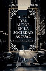 Libro El Rol Del Autor En La Sociedad Actual