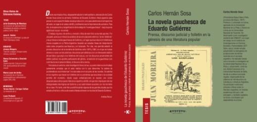 Papel La Novela Gauchesca De Eduardo Gutierrez
