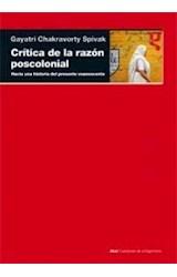 Papel CRITICA DE LA RAZON POSCOLONIAL