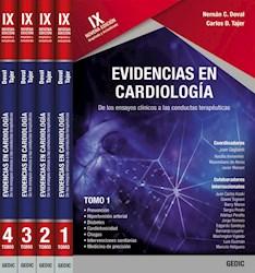 Papel Evidencias En Cardiología Ed.9º  (4 Volúmenes)