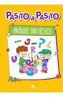 Papel ANALISIS SINTACTICO (COLECCION PASITO A PASITO)