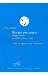 Papel HISTORIAS P/ PENSAR-LIBRO DE APOYO PARA EL D
