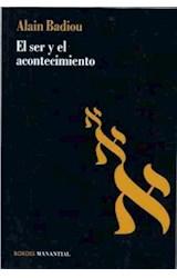 Papel EL SER Y EL ACONTECIMIENTO