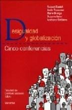 Papel DESIGUALDAD Y GLOBALIZACION (CINCO CONFERENCIAS)