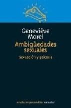 Papel AMBIGUEDADES SEXUALES (SEXUACION Y PSICOSIS)
