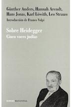 Papel SOBRE HEIDEGGER (CINCO VOCES JUDIAS)