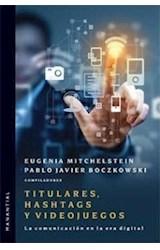 Papel TITULARES, HASHTAGS Y VIDEOJUEGOS