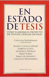 Papel EN ESTADO DE TESIS