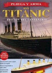 Papel Pliega Y Arma Rms Titanic