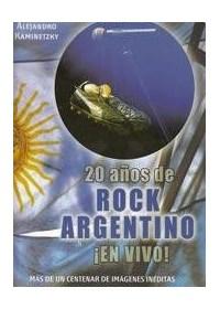 Papel 20 Años De Rock Argentino ¡En Vivo!