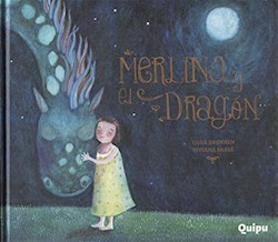 Libro Merlina Y El Dragon  Libro Album