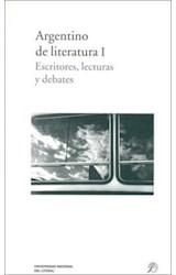 Papel ARGENTINO DE LITERATURA I ESCRITORES, LECTURAS Y DEBATES