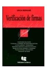 Papel VERIFICACION DE FIRMAS