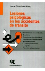 Papel LESIONES PSICOLOGICAS EN LOS ACCIDENTES DE TRANSITO