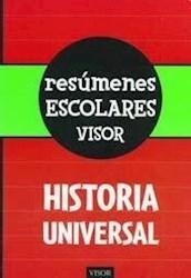 Libro Historia Universal  Resumenes Escolares