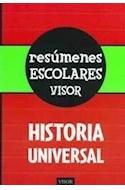 Papel HISTORIA UNIVERSAL (RESUMENES ESCOLARES VISOR)