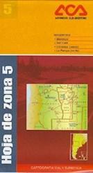 Libro Hoja De Zona 5  Region Cuyo  Cordoba ( Oeste ) La Pampa ( Norte )