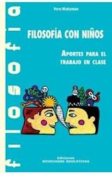 Papel FILOSOFIA CON NIÑOS (APORTES PARA EL TRABAJO EN CLASES)