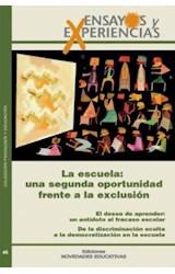 Papel ENSAYOS Y EXPERIENCIAS 46 (ESCUELA UNA SEGUNDA OPORTUNIDAD