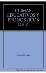 Papel CLIMAS EDUCATIVOS Y PRONOSTICOS DE VIOLENCIA