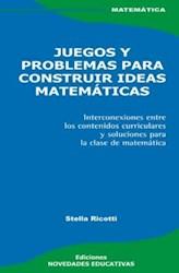 Papel Juegos Y Problemas Para Construir Ideas Mate