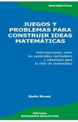 Papel JUEGOS Y PROBLEMAS PARA CONSTRUIR IDEAS MATEMATICAS