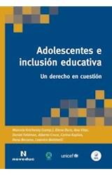Papel ADOLESCENTES E INCLUSION EDUCATIVA UN DERECHO EN CUESTION