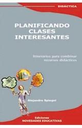 Papel PLANIFICANDO CLASES INTERESANTES (ITINERARIOS PARA COMBINAR