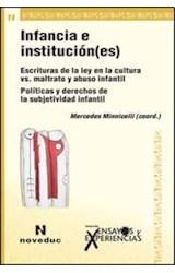 Papel ENSAYOS Y EXPERIENCIAS 69 (INFANCIA E INSTIUCION(ES))