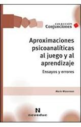 Papel APROXIMACIONES PSICOANALITICAS AL JUEGO Y AL APRENDIZAJE ENS