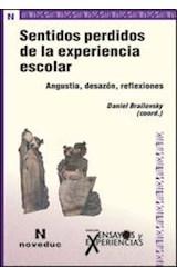 Papel ENSAYOS Y EXPERIENCIAS 70 (SENTIDOS PERDIDOS DE LA EXPERIEN(