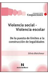 Papel VIOLENCIA SOCIAL - VIOLENCIA ESCOLAR