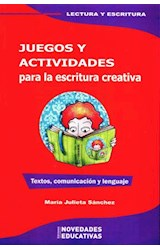 Papel JUEGOS Y ACTIVIDADES PARA LA ESCRITURA CREATIVA