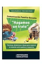 Papel COMUNICACION FAMILIA-ESCUELA.HAGAMOS UN TRATO