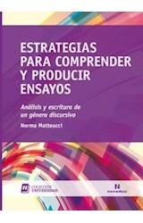 Papel ESTRATEGIAS PARA COMPRENDER Y PRODUCIR ENSAYOS (ANALISIS Y E