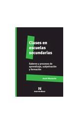 Papel CLASES EN ESCUELAS SECUNDARIAS