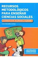 Papel RECURSOS METODOLOGICOS PARA ENSEÑAR CIENCIAS SOCIALES