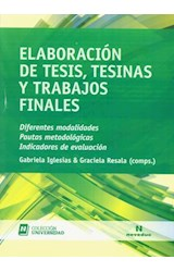 Papel ELABORACION DE TESIS, TESINAS Y TRABAJOS FINALES