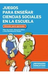 Papel JUEGOS PARA ENSEÑAR CIENCIAS SOCIALES EN LA ESCUELA
