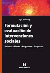 Papel Formulacion Y Evaluacion De Intervenciones Sociales