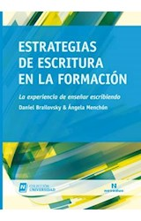 Papel ESTRATEGIAS DE ESCRITURA EN LA FORMACION