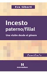 Papel INCESTO PATERNO/FILIAL UNA VISION DESDE EL GENERO